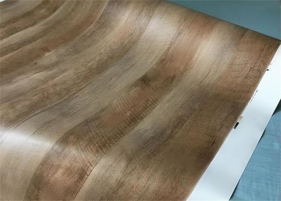 China Matte Wood Grain Cabinet Film Cover Durable Indoor For Kitchen Decoration supplier