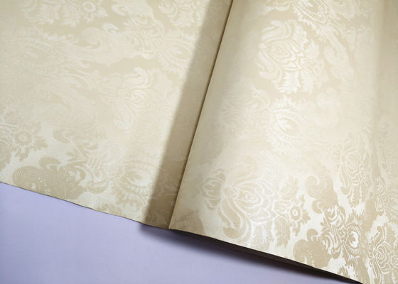 Easy To Clean Damask Self Adhesive Wallpaper Multi Color For Restaurant And Pub