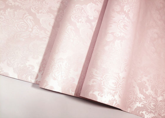 Damask Peel And Stick Temporary Wallpaper Unfading Self Adhesive Vinyl Paper