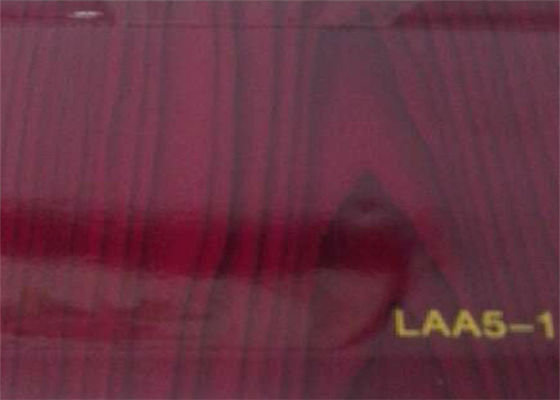 Glossy Red Double Sided Lamination Film Exquisite Color For Vacuum Machine Cover